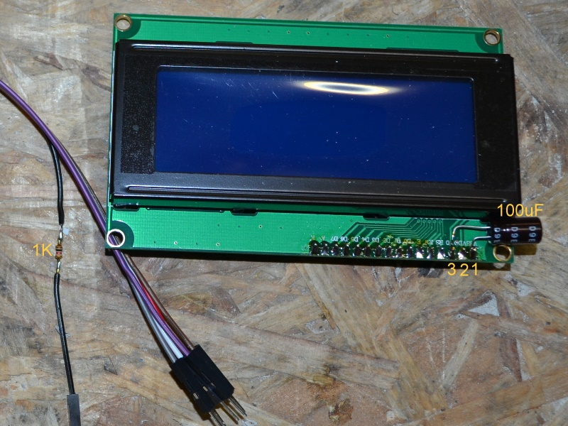 Using PWM to control LCD contrast