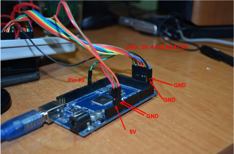 Connecting an LCD display
